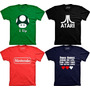 Camisetas Games 1 Up Vida Mario Atari Nintendo Video Game