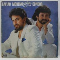 Lp Gavião Moreno & El Condor - 1989 - Som De Cristal