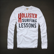Camisetas Manga Longa Abercrombie & Fitch E Hollister