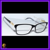 Óculos De Grau, Armação, Preto E Branco, Chanel 3356