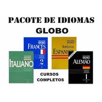 Pacote De Cursos -espanhol Alemão Francês Italiano -frete Gr