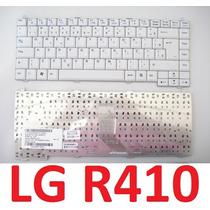Teclado Original Lg R410 R480 Mp-04656pa-9204 Com Ç Branco