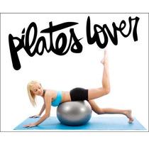 Adesivo Decorativo De Ambientes E Paredes - Tema Pilates