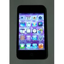 Ipod Touch 32gb Preto 4 Geração - Defeito Bluetooth Leia
