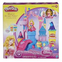 Play - Doh Castelo Mágico Das Princesas Com Aurora Hasbro