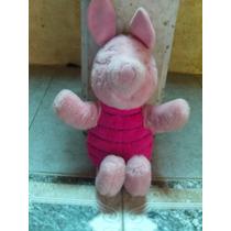 Pelúcia Leitão Amigo Urso Pooh Puff Disney Festa Porco 1