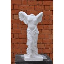 Vitória De Samotrácia Esculpida A Mão 50 Cm- Emp207
