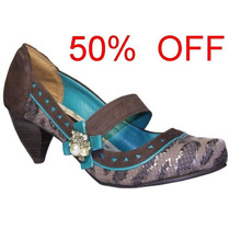 Sapato Dakota Tanara Buriti Marrom N2334-0001 50% Off