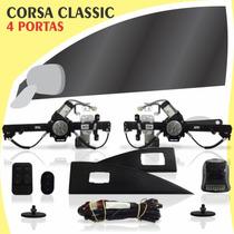 Kit Vidro Elétrico Dianteiro Corsa Classic 4 Portas