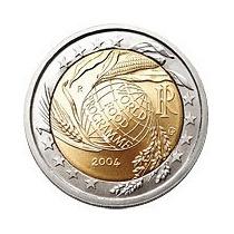 Moeda Comemorativa Bimetálica De 2 Euros Finlandia-2006