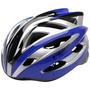 Capacete Bike Trust Mv39 Tamanho G Azul Prata Fastbikeshop