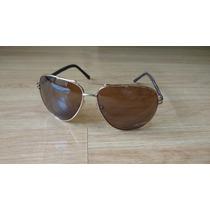 Óculos De Sol Ray Ban Modelo Aviador Lentes Polarizadas