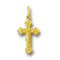 Crucifixo De Ouro 18k 750 Com Certificado