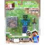 Tk0 Toy Minecraft Overworld S1 Zombie / Jazwares
