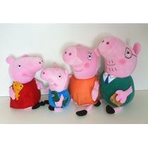 Peppa Pig Família 4 Personagens Pronta Entrega Frete Grátis