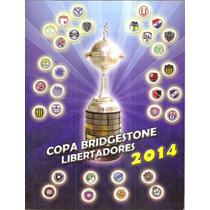 Album Copa Libertadores 2014 - Completo - Figurinhas Soltas
