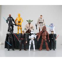 Star Wars Articuláveis 17,5 Cm - Coleção Completa 10 Bonecos