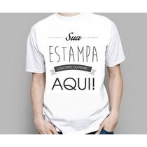 Camisetas Personalizadas Com A Sua Estampa Foto Imagem