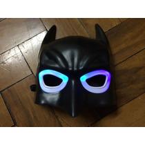 Mascara De Led Batman Festa Infantil Cosplay Adulto