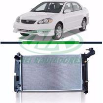 Radiador Corolla 1.6/1.8 16v 02-08 C/ar Aut-mec Com Defletor