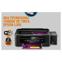 Impressora Epson L355 Tinta Comestível P/ Papel Arroz Nova!