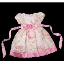 Vestido Infantil Festa/ Princesinha/dama Bordado