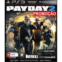 Payday 2 - Pay Day 2 Ps3 - Codigos Games Para A Psn -pai Dai