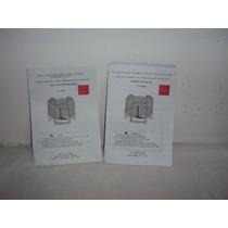 2 Manual Cama Elástica Hexagonal 2,2 M C/ 3 Pernas/ Proteção