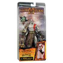Boneco Kratos With Medusa Head God Of War - Original Neca
