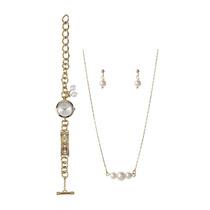 Relógio Allora Al2035ezgk/4k Berloques + Kit Semi Jóia