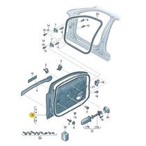 Porta Dianteira Audi A4 2008 2009 2010 2011 2012 Esquerda B8