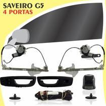 Kit Vidro Elétrico Dianteiro Sensorizado Saveiro G5