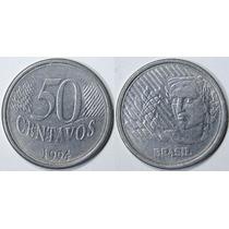 Moeda De 50 Centavos 1994 - Moeda De R$0,50 Centavos 1994