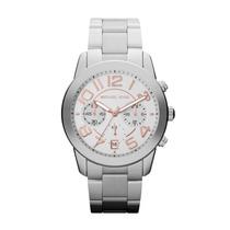 Relógio Michael Kors Mk5725 Prata E Rose - Promocional