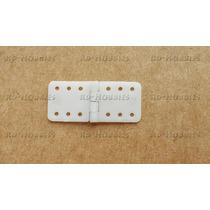 Pinned Hinge - Mini Dobradiça Nylon 12x24mm Com 10 Unidades