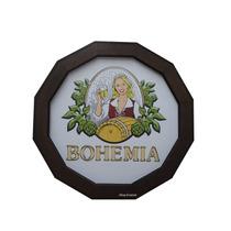 Luminoso De Madeira Para Bar Cerveja Bohemia