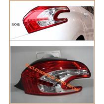 Lanterna Peugeot 208 Ano 2013 2014 2015 Original Led L/d