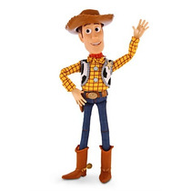 Boneco Woody Toy Story Disney Original 40cm Fala 19 Frases