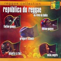 Cd Republica Do Reggae - Adao Negro, Edson Gomes, Tintim Man