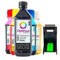 Kit Tinta Canon Mx310 | Ip1300 800ml + Snap + Fluído Limpeza