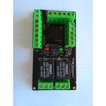 Placa Rele 12v - J11c Black Plus Jasf Electronics P/ Arduino