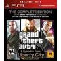 Gta Grand Theft Auto Iv Liberty City Ps3 Original Ac Trocas