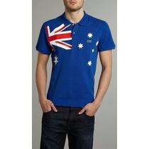 Camisa Polo Lacoste País Austrália