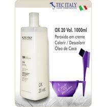 Ox 20 Vol. 1000ml Tec Italy Produto Importado-agua Oxigenada