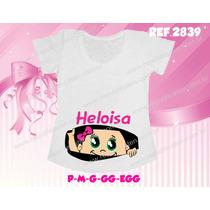 Camiseta T Shirt Gravida Gestante Personalizada Chá De Bebê
