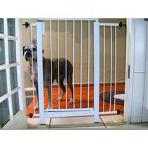 Grade De Porta Escada Cão,pets,bebe E Criança.+ 2 Extensores