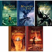 Kit Percy Jackson E Os Olimpianos 5 Livros - Laceado