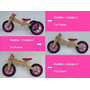 Bicicleta De Madeira Infantil