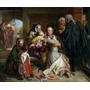 Inocente Justiça Juiz Advogado Grande Pintor Solomon Na Tela