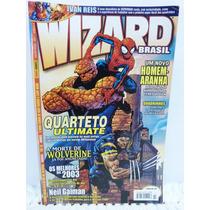 Revista Wizard Hq Marvel Comics Nº 3 Homem Aranha Panini